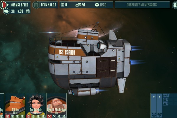 Cosmonautica is a fresh take on space trading in a procedurally generated universe, paired with quirky humor for your intergalactic enjoyment.